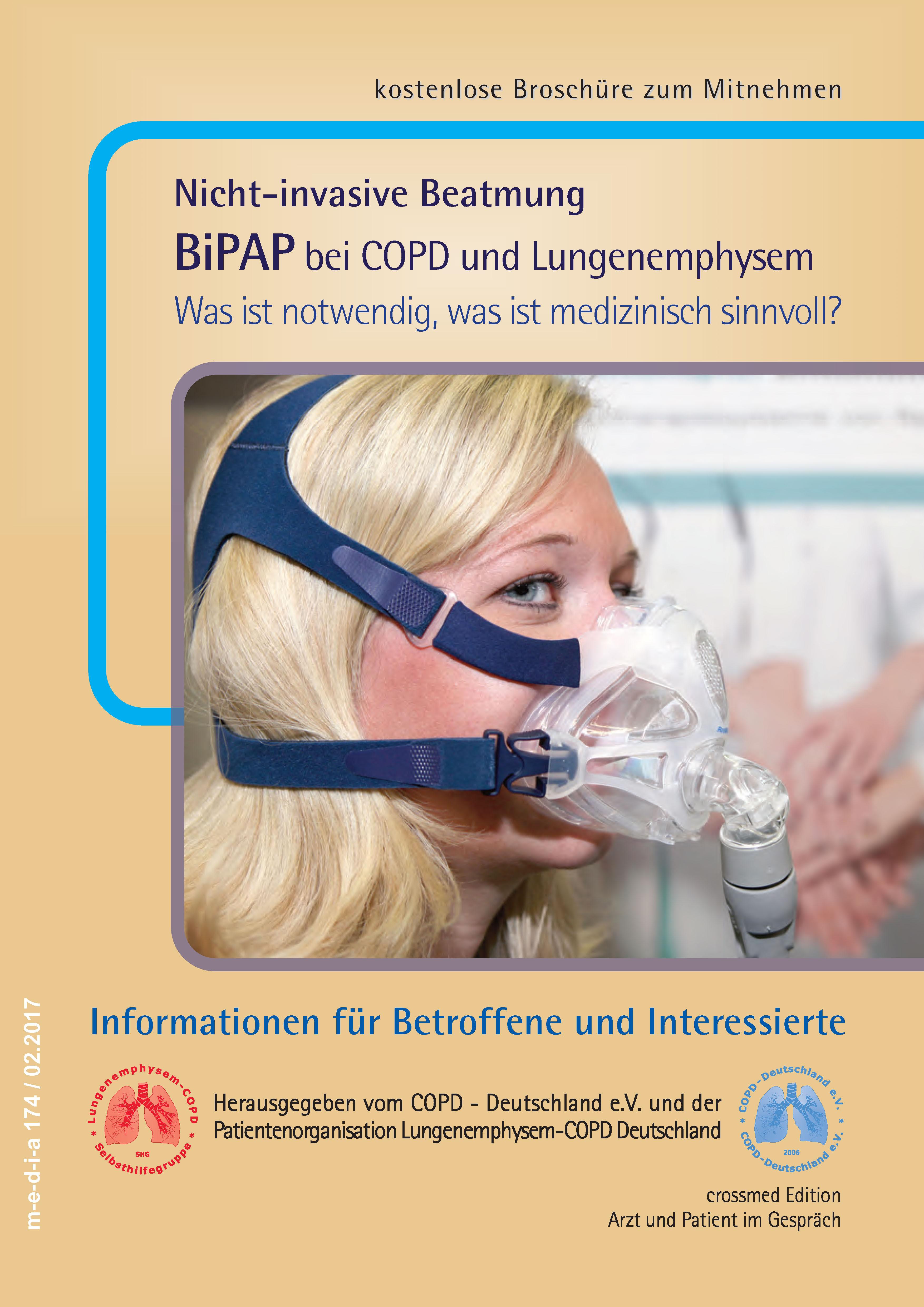 Broschüre für COPD Patienten
