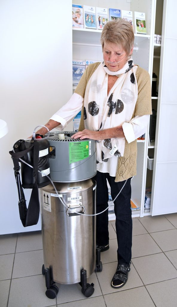 Frauenpower-1 Mekka für Sauerstoff-Patienten