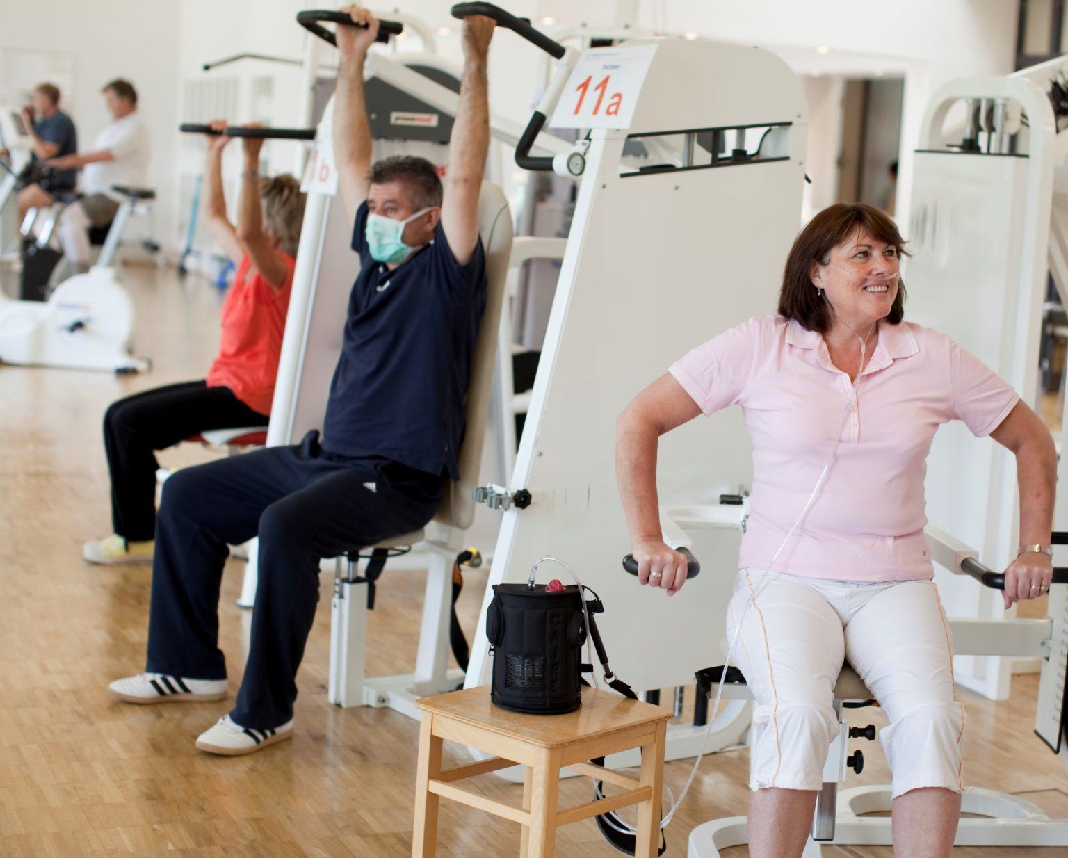 Mit COPD im Krankenhaus - was bringt eine Bewegungstherapie